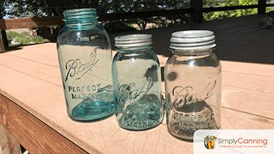 Vintage jars.