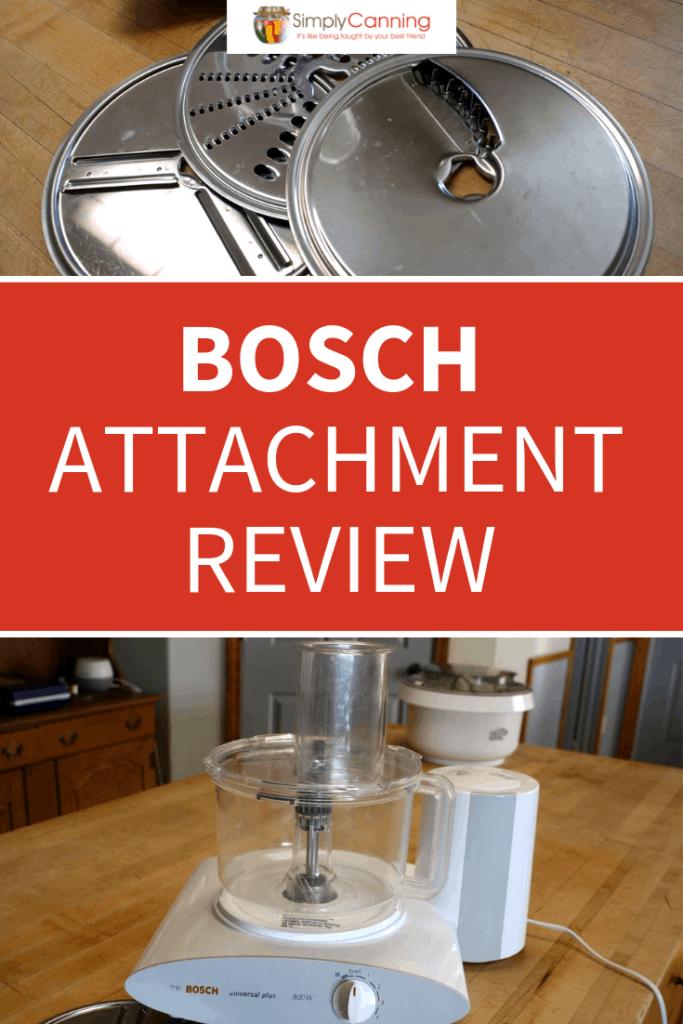 Bosch Attachment Review