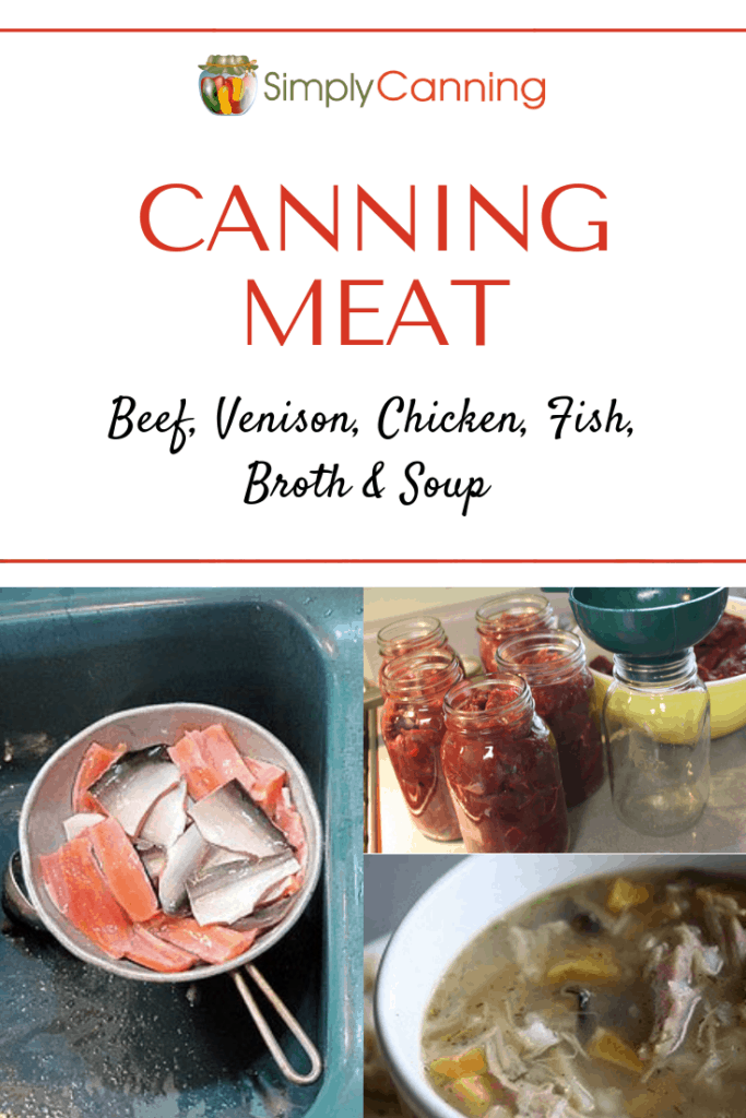 Canning Meat Pin