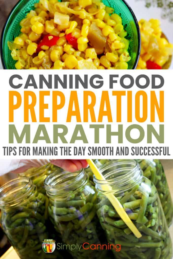 Canning food marathon pin1