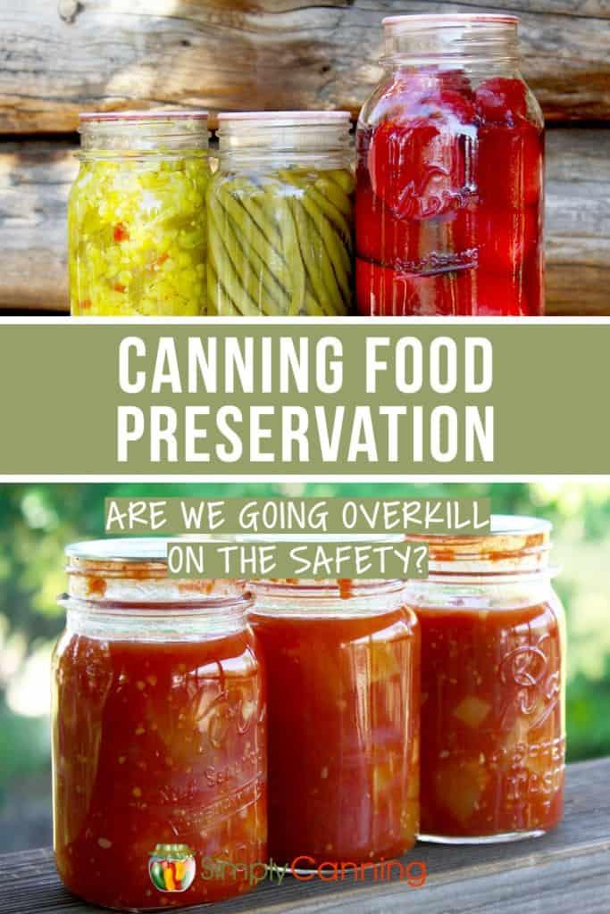 Canning Food Preservation