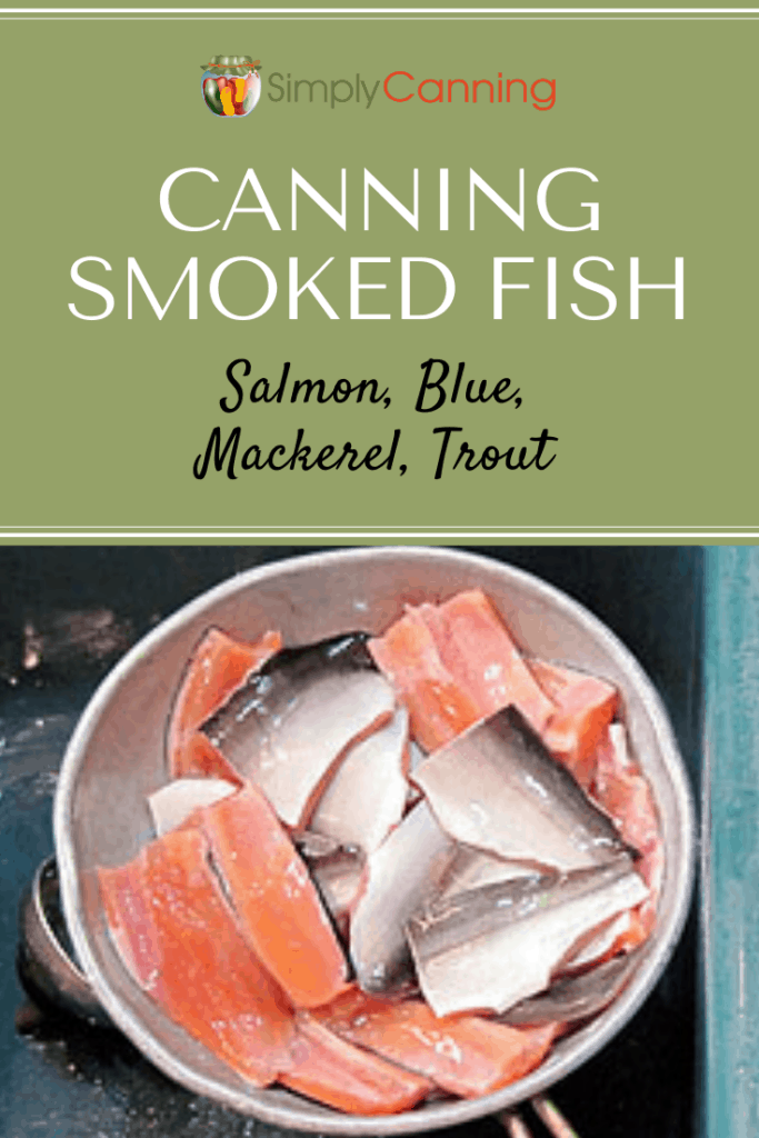 canning smoked fish