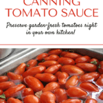 Canning tomato sauce pin1