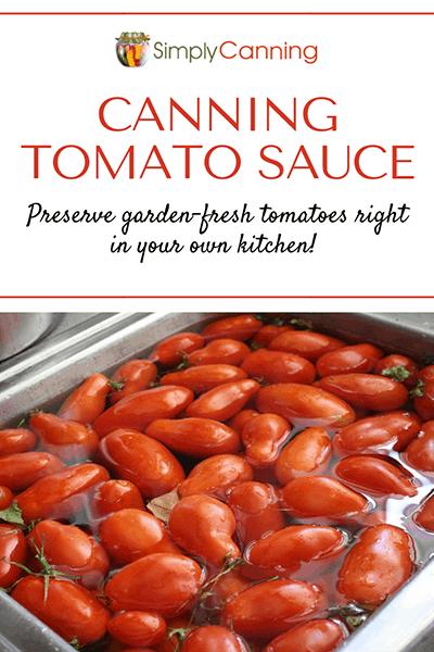 Canning tomato sauce pin1