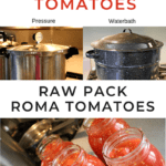 Canning tomatoes raw pack pin-1