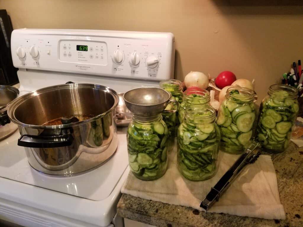 Dianne Hadorn Hidden Springs Homestead Pickles Jars