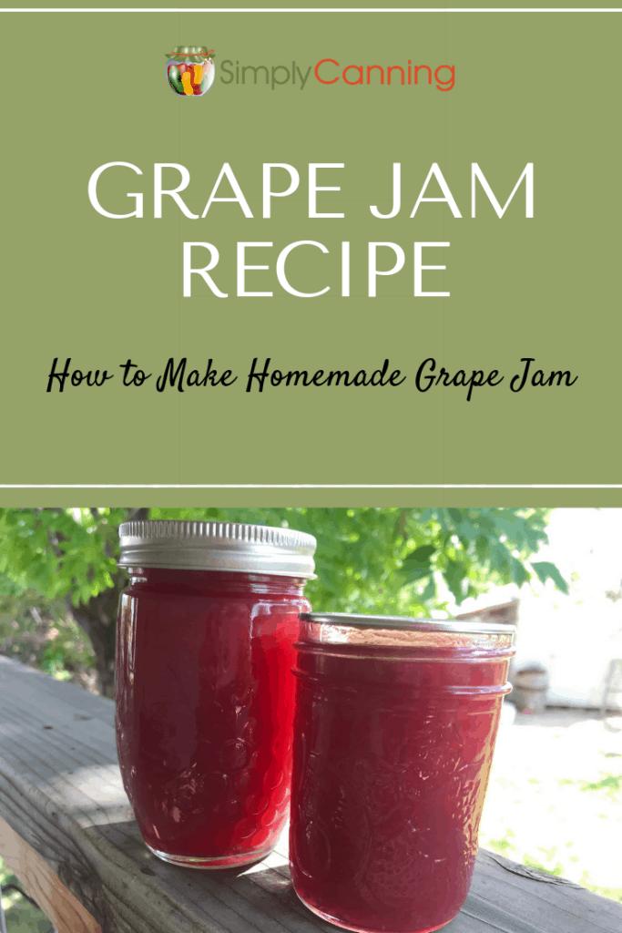 Grape Jam Recipe pin1