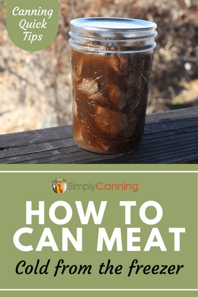 How to can meat