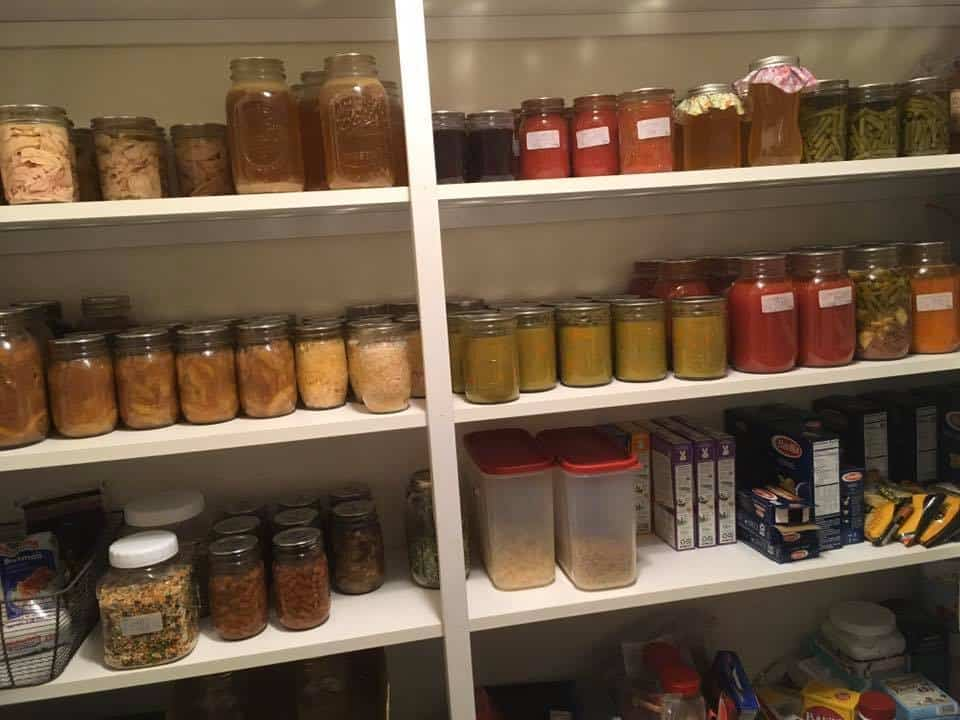 Julie D Pantry Home Canning Jars Page
