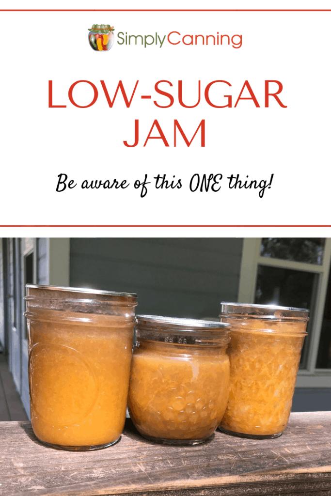 Low Sugar Jam pin1
