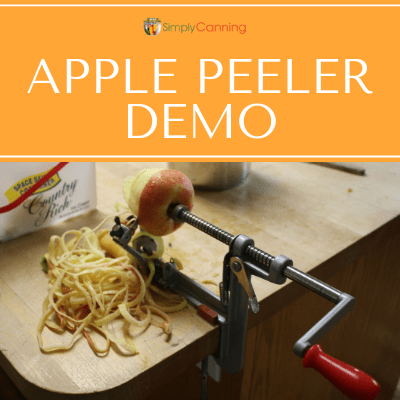 Apple Peeler Demo
