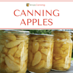 Canning Apples featured image.