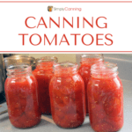 T2 Canning Tomatoes