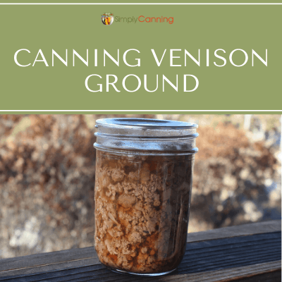 canning venison ground