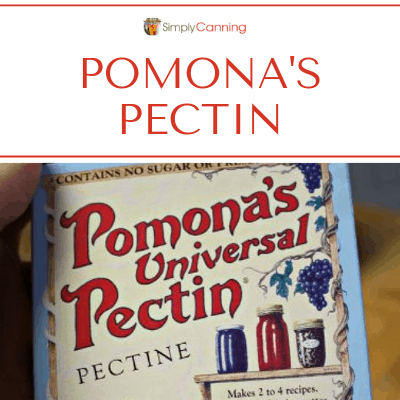 Package of Pomona's Universal Pectin.