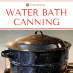 Water bath canning featured image