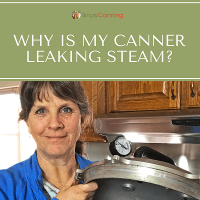 Suddenly notice your All American canner is leaking steam around the lid? This is a common problem. Get ideas for what you can do about it at SimplyCanning.com.