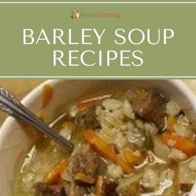 barley soup recipes