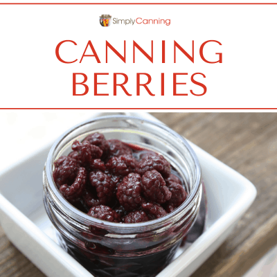 canning berries
