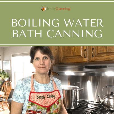 When boiling water bath canning, is it safe to double stack your jars in the canner? SimplyCanning.com answers this beginner question.
