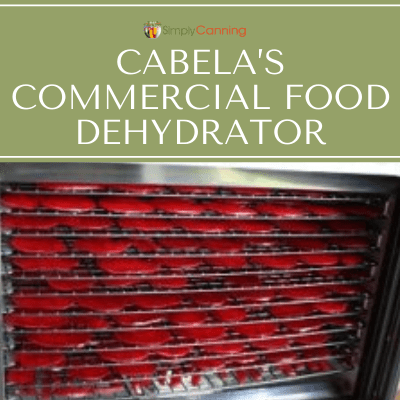 Cabela's Commercial Food Dehydrator