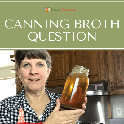 Wondering if you can use bouillon in home canned broth or stock? Listen as SimplyCanning.com addresses this question about canning broth.