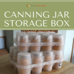 canning jar storage box
