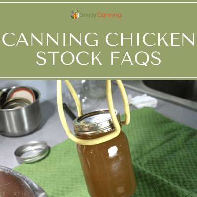 So I'm canning chicken stock/broth. How do I remove the fat? How much is too much? What do I do with the extra? SimplyCanning.com answers these FAQs about canning chicken stock/broth.