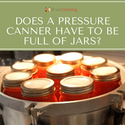 Does a pressure canner have to be full of jars? Learn about pressure canning a partial load in this Canning Chat!