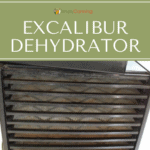 Layers and layers of trays inside the Excalibur Dehydrator.