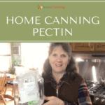 home canning pectin