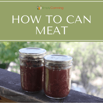 How to can meat cold from the freezer or refrigerator. Don't put cold meat in a hot jar! Do this instead.