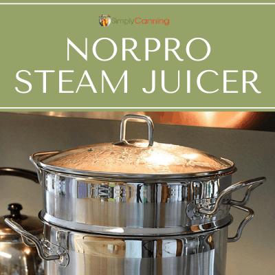 norpro steam juicer