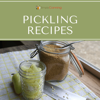 Find out why pickling recipes for vegetables do not require a pressure canner.