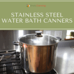 stainless steel water bath canner