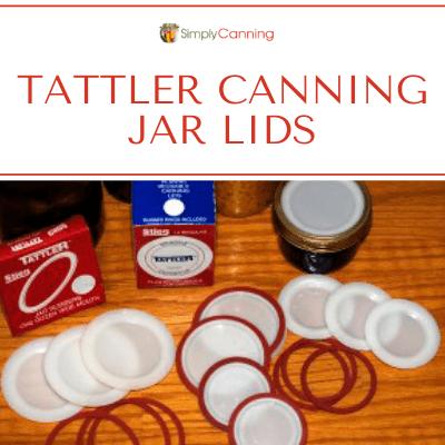 Tattler Canning Jar Lids