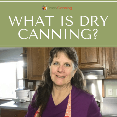 Sharon discussing the dry canning topic.