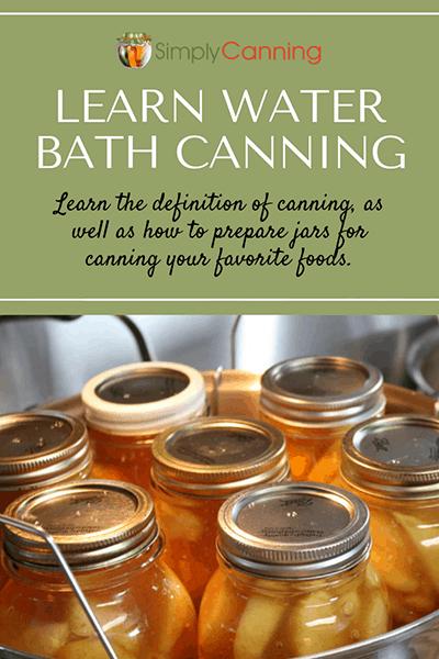 Waterbath canning