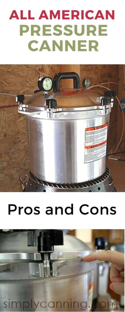 The All American pressure canner is a top-of-the-line canner. You can't go wrong buying any of the models available. SimplyCanning.com explains.