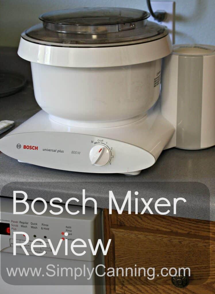 bosch mixer review