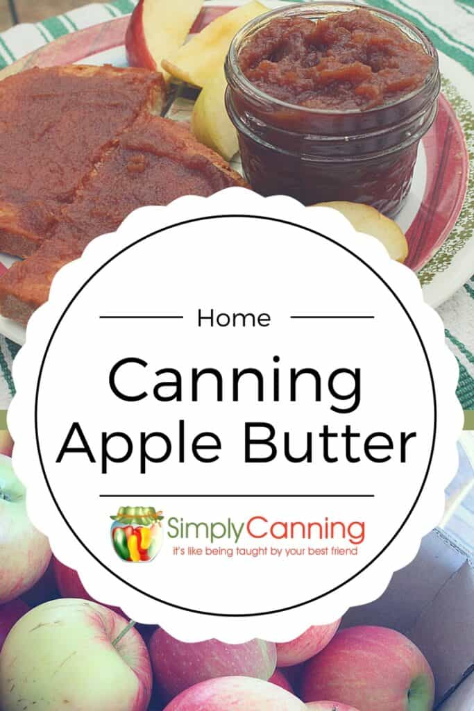 canning applebutter pin