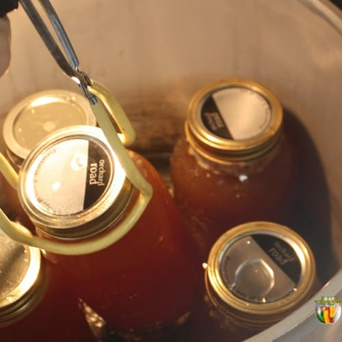 canning broth or stock