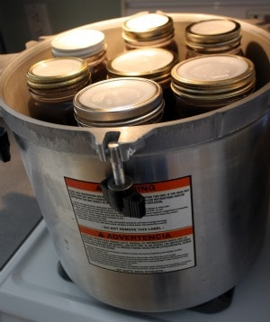 canning dried beans in pressure canner