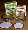 How standard canning jar lids work.