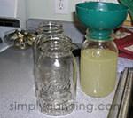 canning fill jars