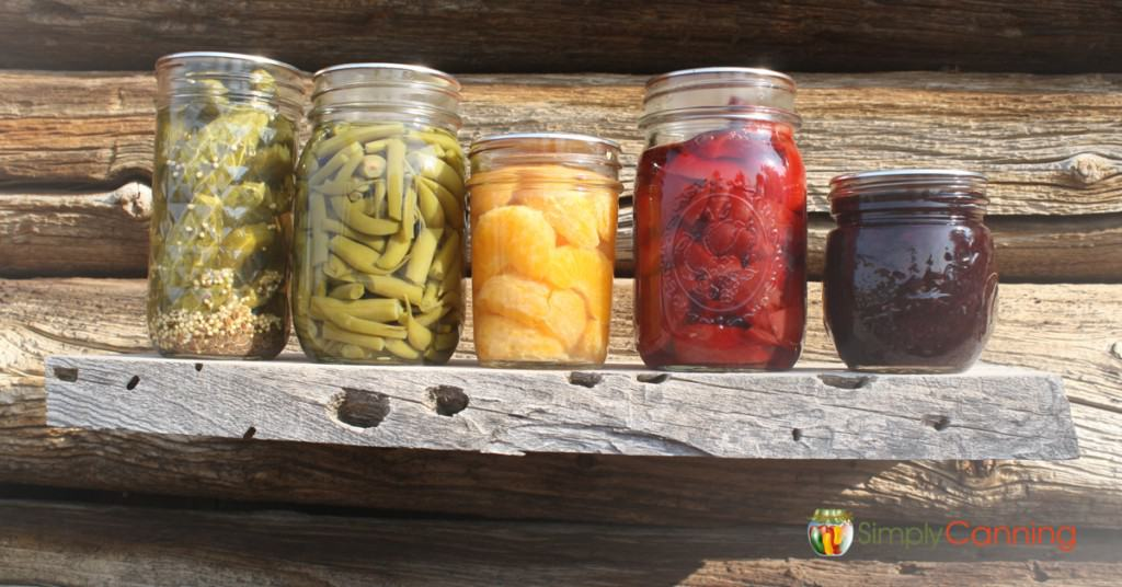 canning jar recycled