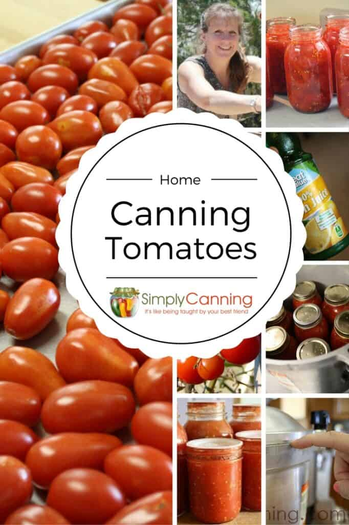 Canning Tomatoes Recipes: How to Can Tomatoes