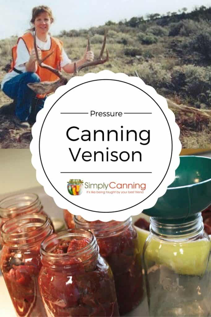 canning venison rawpack pin