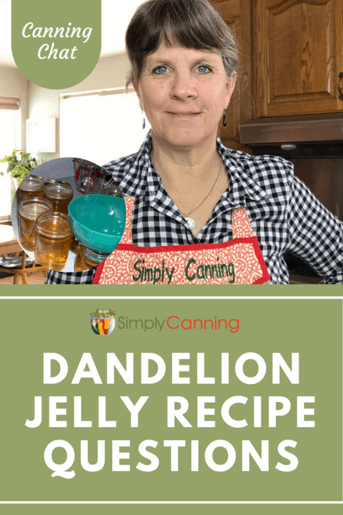Making my homemade dandelion jelly recipe? While finding out how to make it, these questions may come up. Get them answered now!
