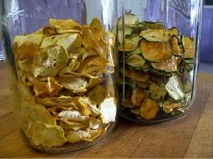 dehydrating foods zucchini jars